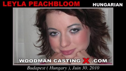 WoodmanCastingX - Leyla Peachbloom [HD 720p]