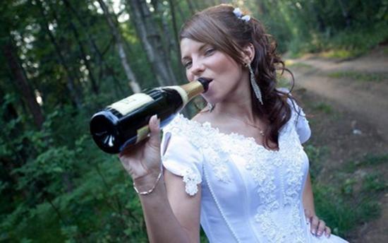 невеста напилась на свадьбе фото