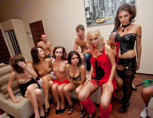 CollegeFuckParties - Student group sex on Halloween - ssp7605 (2011/SD/340Mb)