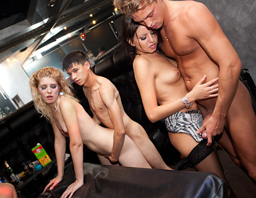 CollegeFuckParties - Young college sauna fuck party - ssp8005 (2011/SD/543Mb)