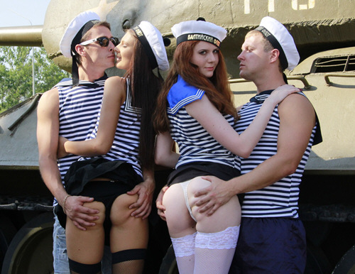 CollegeFuckParties - Real college girls fuck at marine party - ssp7401 (2011/SD/1.41Gb)