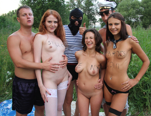 CollegeFuckParties - Real college girls fuck at marine party - ssp7404 (2011/SD/289Mb)