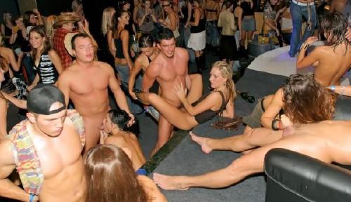 Порног рупповуха на дискотеке