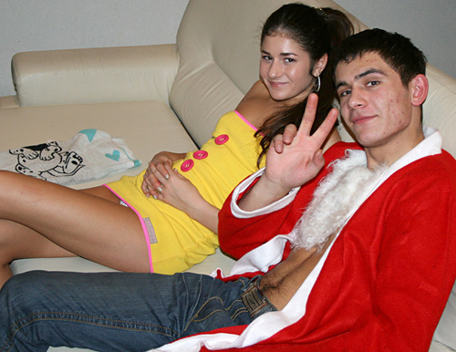 CollegeFuckParties - Student sex friends celebrate X-mas - ssp3803 (2010/SD/422Mb)