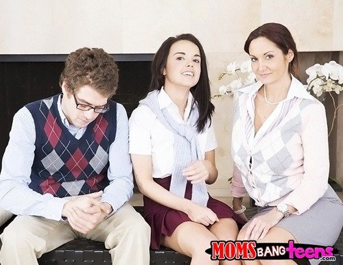Ava Addams, Dillion Harper - MomsBangTeens - Sweet seduction (2013/HD/720p/1.38Gb)