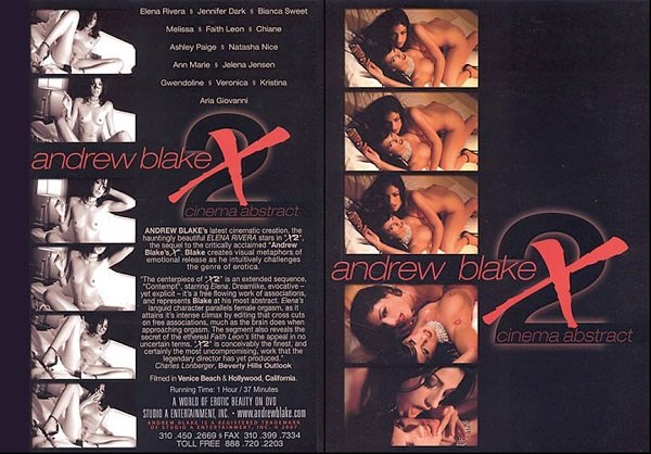Andrew Blake X2 - Cinema Abstract (2007) DVDRip
