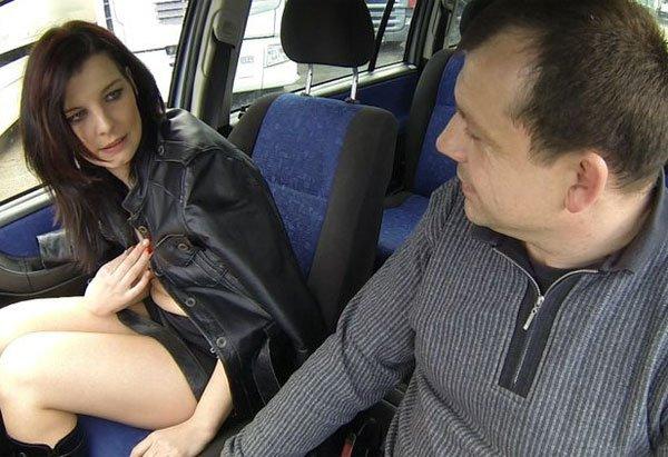 в машине чешскую проститутку