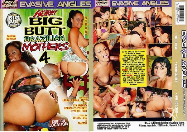 Horny Big Butt Brazilian Mothers 4 (2009/DVDRip)