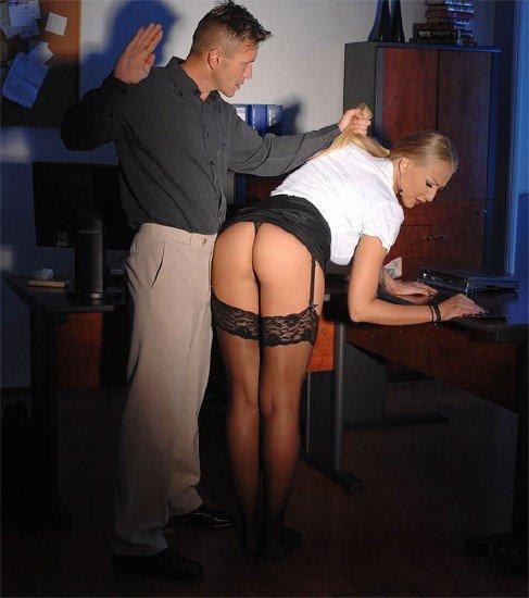 Наказал сексретаршу порно