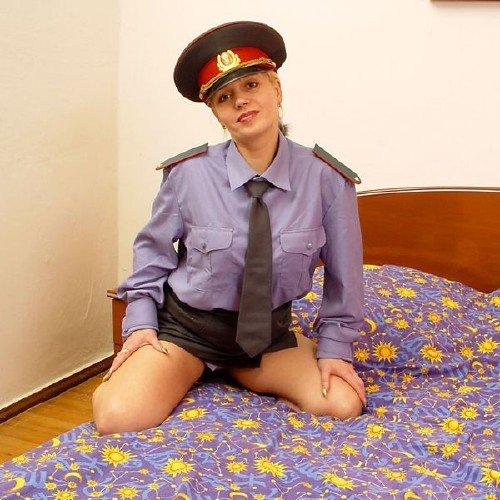 В милиции порно
