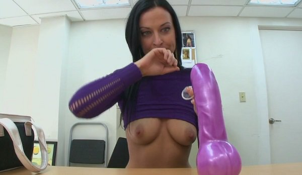BackroomMILF - Violet Marcelle Pretty in Purple (2010/HD)
