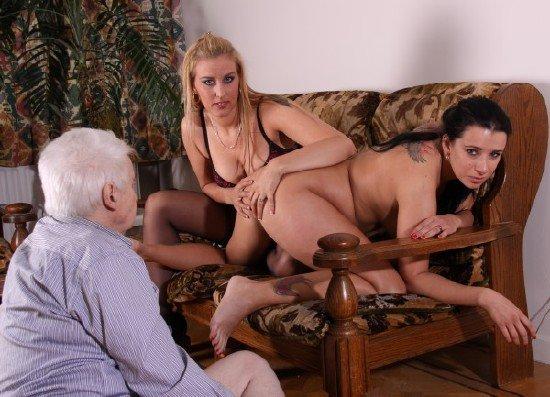 Порно видео старики лесби